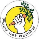 Food Not Bombs badge