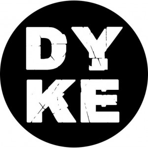 105, DYKE  badge