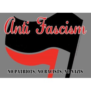 Anti Fascism sticker