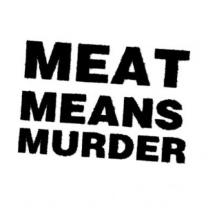 119, Meat Means Murder Badge