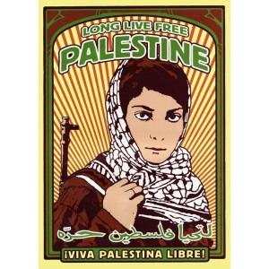 Long Live Palestine sticker