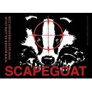 Badger scapegoat sticker