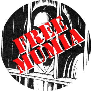 321, Free Mumia badge