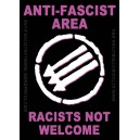 Anti-Fascist Area sticker