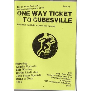 One Way Ticket to Cubesville *16