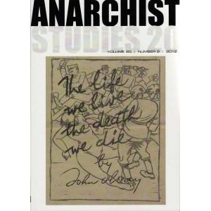 Anarchist Studies Vol 20 *2