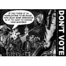 Don't Vote Feederz sticker
