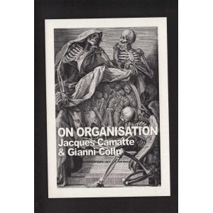 On Organisation, Jacques Camatte & Gianni Collu