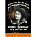 Belle Starr sticker
