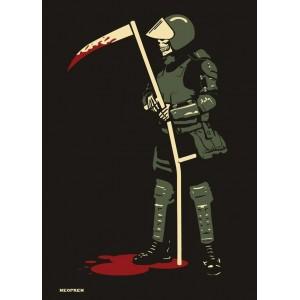 Death Cop - Police Reaper - sticker