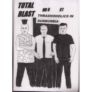 Total Blast *6 comic zine