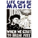 Life Can be Magic sticker