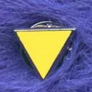 Yellow Triangle (Anti Nazi Jewish Brooch)