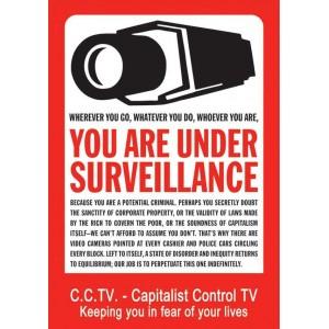 You are under surveillance Sticker