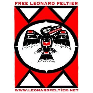 Free Leonard Peltier ..... sticker