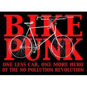 Bike Punk sticker