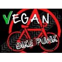 vegan biker