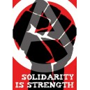 Solidarity is Strength sticker