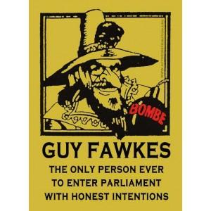 Guy Fawkes sticker