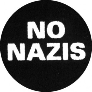 117, No Nazis Badge