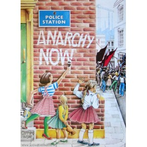 Anarchy Now Sticker