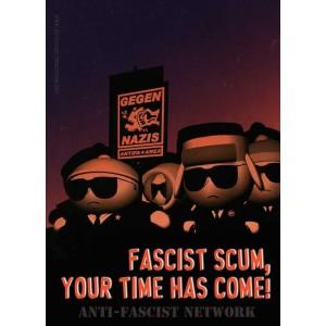 Fascist scum sticker