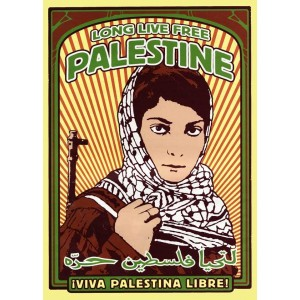 Long Live Palestine sticker