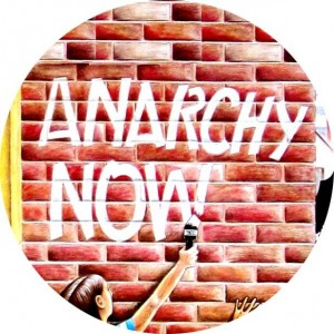 423, Anarchy Now Badge