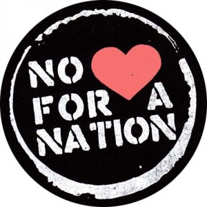 424, No luv for a nation Badge