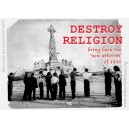 Destroy Religion sticker