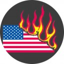 357, US Flag Burns