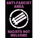 Anti-Fascist Area sticker