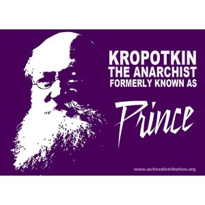 Kroptokin, the Prince, sticker