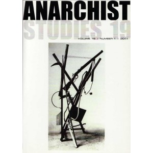 Anarchist Studies Vol 19 *1