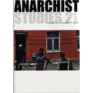 Anarchist Studies Vol 21 *1