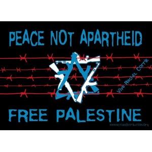 Peace not Aparthied, Free Palestine