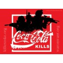 Coca Cola Kills sticker