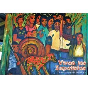 Vivan los Zapatistas Postcard
