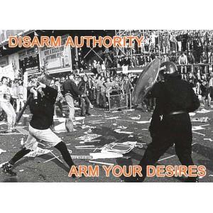 Disarm Authority sticker