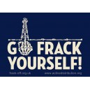 Go Frack Yourself sticker