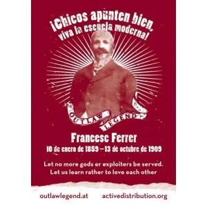 Francesc Ferrer sticker