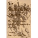 To Remember Spain by Murray Bookchin