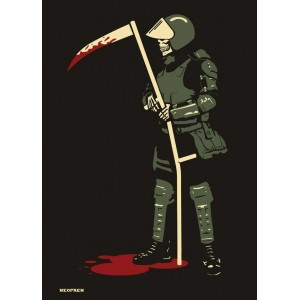 Death Cop - Police Reaper - sticker