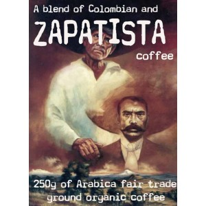 Zapatista Coffee Blend, Ground 250g