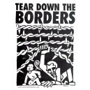 Tear Down the Borders sticker