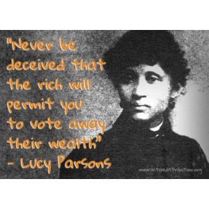 Lucy Parsons sticker