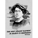 Emma Goldman Ignorance sticker