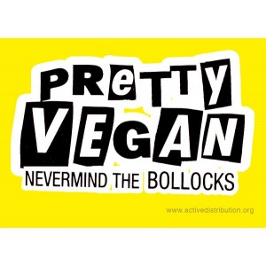 Pretty Vegan sticker
