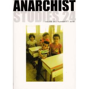 Anarchist Studies Vol 24 Number 1 2016