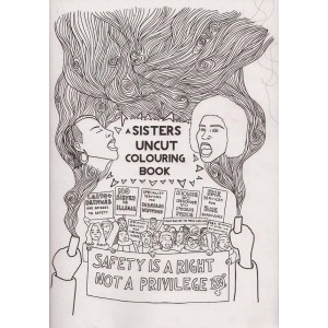 Sisters Uncut Colouring Book